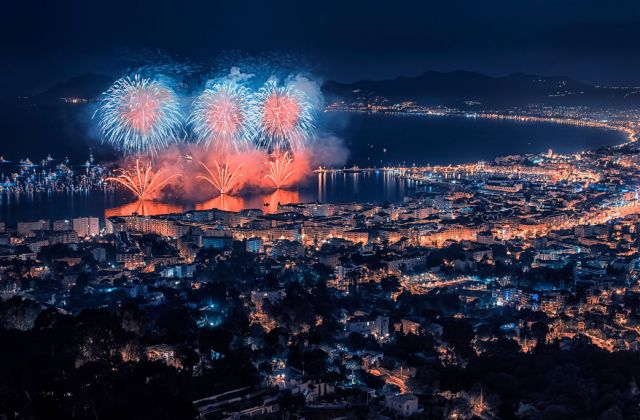 Cannes, Feu d'artifice