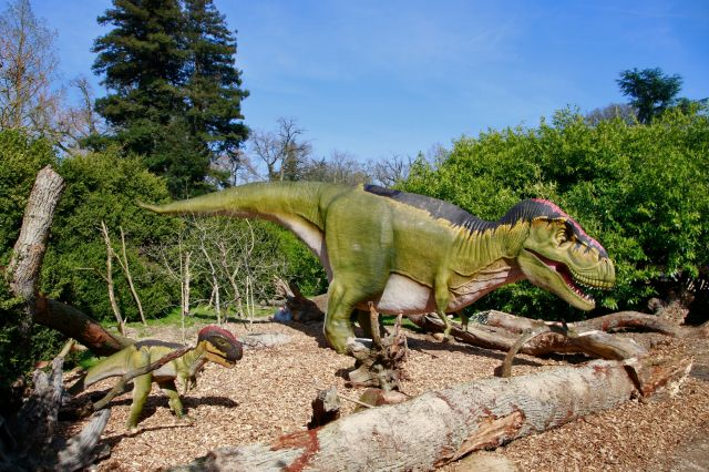 dinozoore attraction thoiry