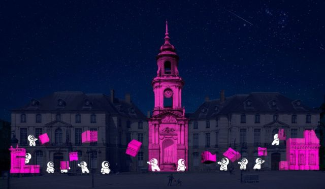 affiche rennes projections lumieres