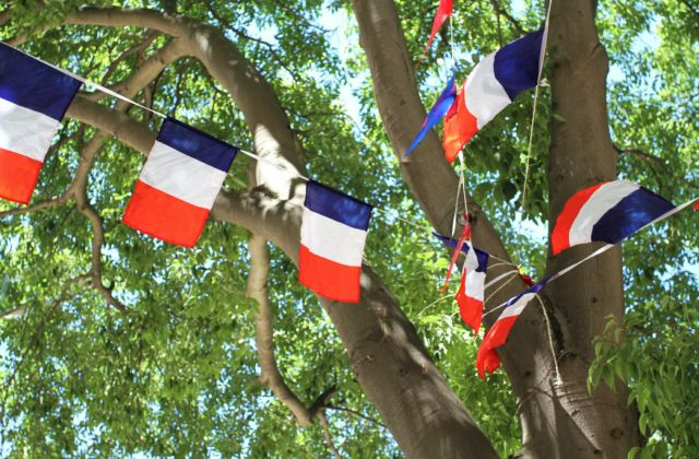 drapeau france décoration