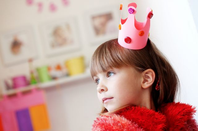costume deguisement princesse couronne diy