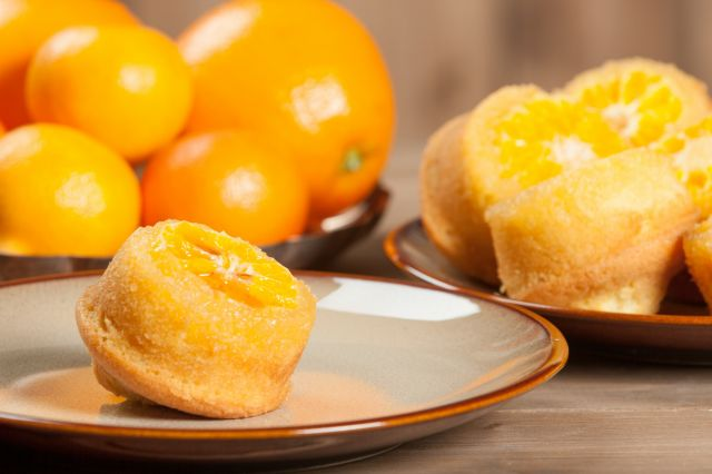 clementine muffin gouter