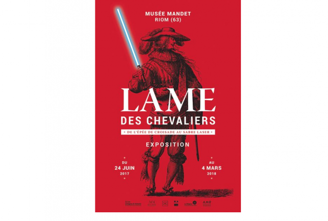 affiche lame chevaliers exposition riom