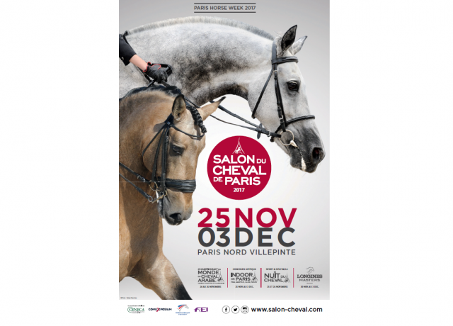 salon cheval paris affiche