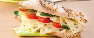 sandwich fromage tomate
