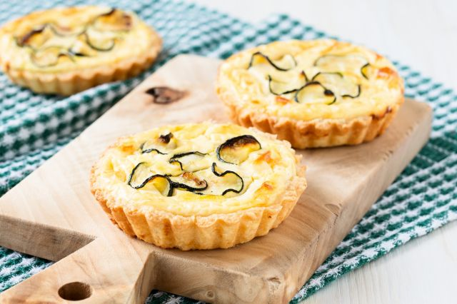 tartelettes courgette fromage