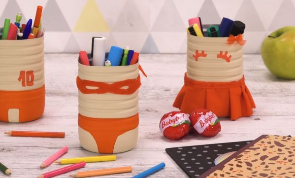 Tuto : comment faire un pot à crayons supercheese ?