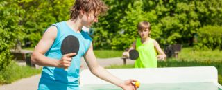 ping-pong sport famille regles