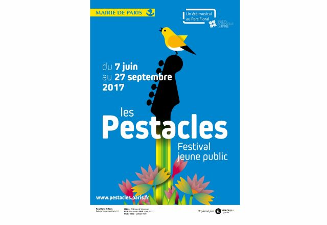 pestacle, parc floral paris, festival enfant