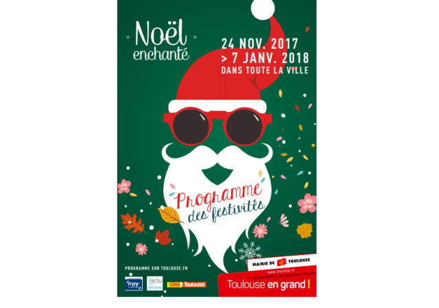 affiche noel toulouse
