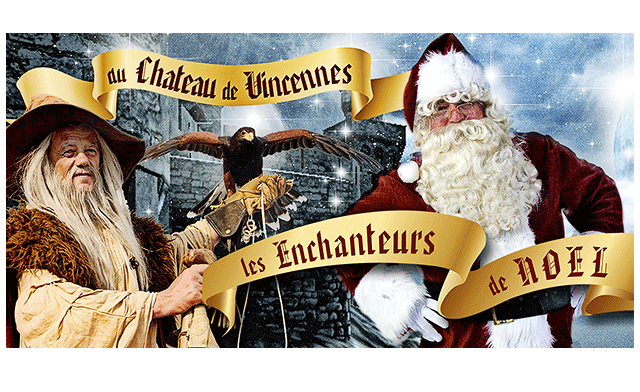 affiche enchanteur noel vincennes