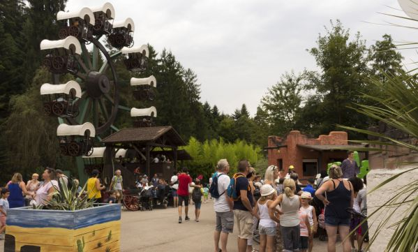 Visiter le parc d'attraction Fraispertuis City en famille