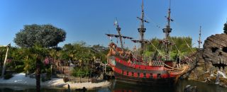 Adventure Isle, Skull Rock et le Galion des Pirates