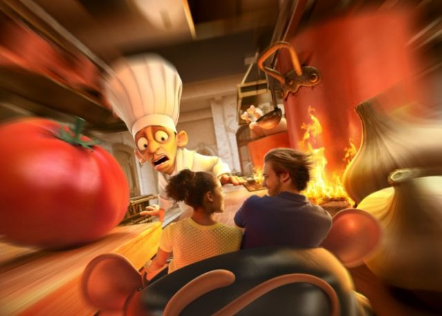 ratatouille walt disney studio