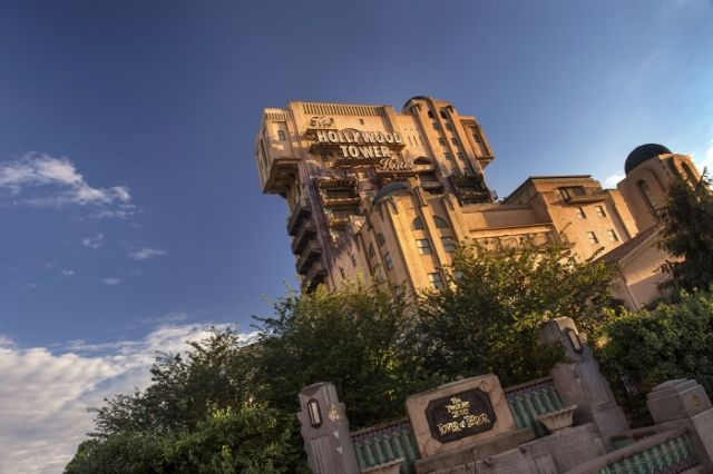 Hollywood Tower Hotel disney studio