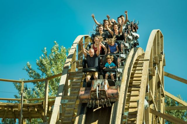 parc walibi timber attractions parents et enfants