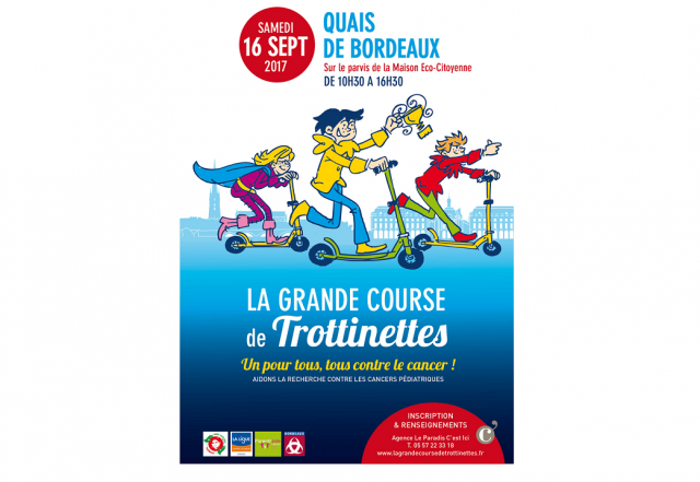 grande course trottinettes bordeaux