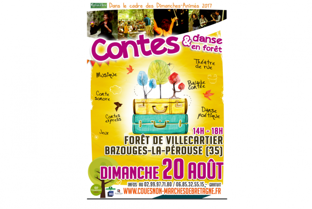 contes villecartier balade foret enfant famille sorties