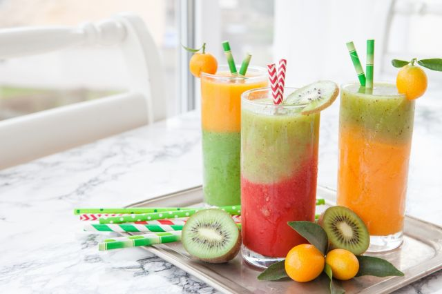 smoothie fruit couleur