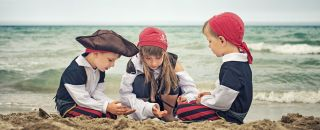 Enfants deguisement pirate