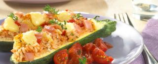 tomate fromage courgette