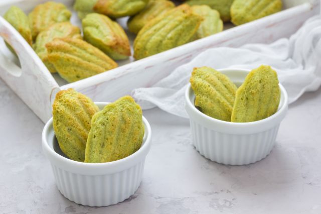 Madeleines petits poids